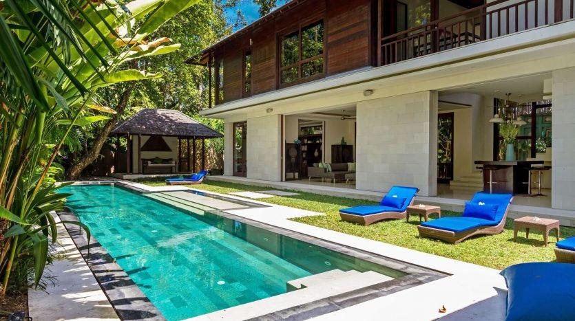 Stunning 4-bedroom freehold villa for sale Seminyak pool